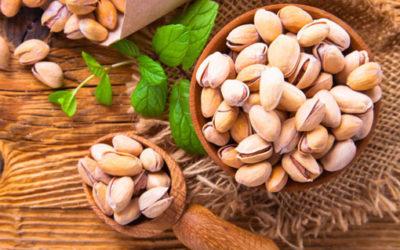 Dried Nuts Salt